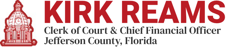 Kirk Reams Jefferson County Florida Clerk of Court